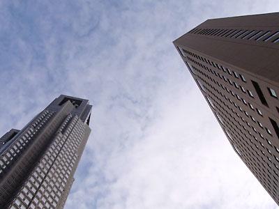 都庁とハイアット