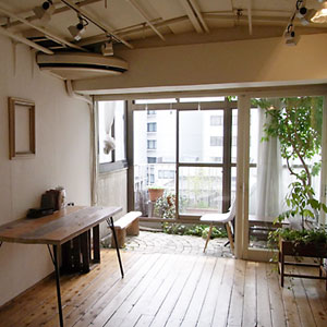 青山のスタジオ