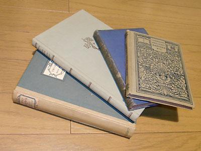 ディスプレイ用の洋古書